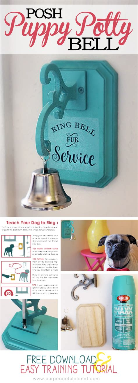 how to bell a puppy how to potty a to use a bell how to make one 183
