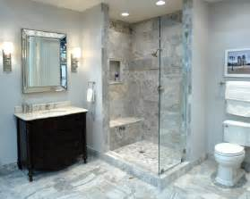 Travertine Bathroom Tile Ideas by An Bathroom Featuring Claros Silver Travertine
