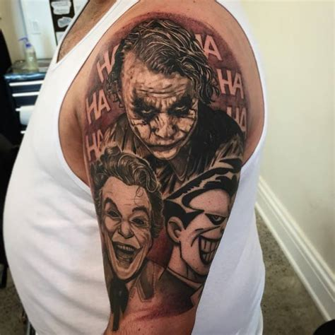 joker tattoo sleeve designs joker sleeve designs ideas and meaning tattoos