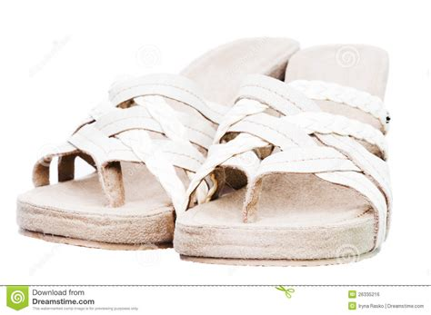 Comfortable Summer Sandals by Comfortable Summer Sandals Royalty Free Stock Image