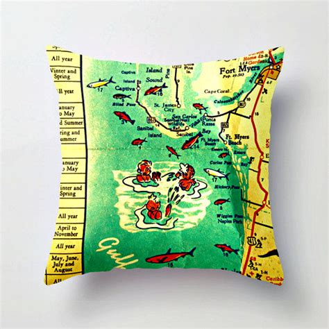 Myer Pillows by Ft Myers Pillow Cover Ft Myers Gifts Florida Throw Pillow