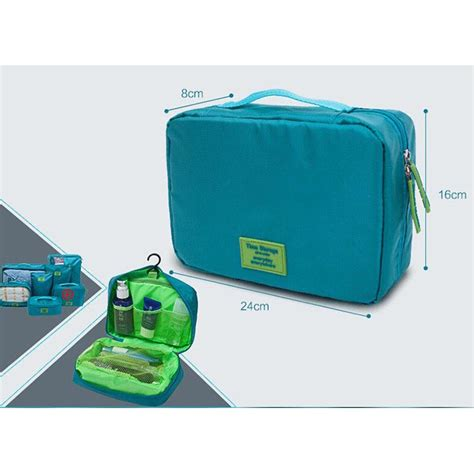 Bag Tas Perlengkapan Bayi Traveling Bag Organize Diskon tas travel bag in bag organizer 7 in 1 lake blue