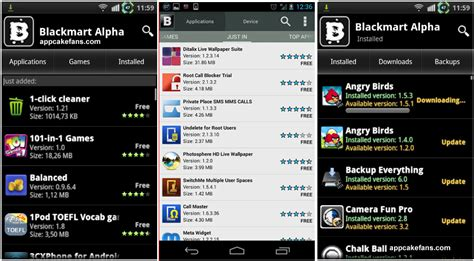 blackmaket apk blackmart alpha apk version free and free android apps appcake repo sources