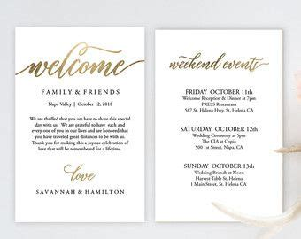 Wedding Welcome Bag Note Welcome Bag Letter By Mintypaperieshop Wedding Tips In 2019 Wedding Welcome Bag Letter Template