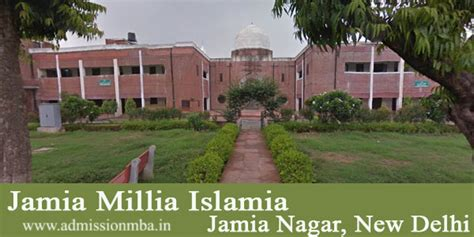 Jamia Millia Delhi Mba jamia millia islamia delhi central jamia delhi