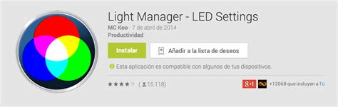 Light Manager by Light Manager La Mejor Aplicaci 243 N Para Controlar Tus Leds