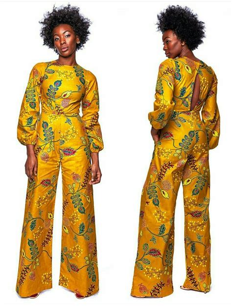ankara jumpsuit styles photos 525 best images about ankara trousers outfit on pinterest