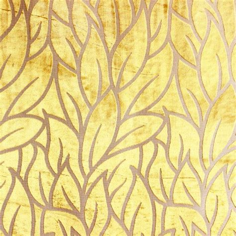 yellow leaf pattern fabric 11 best images about wicker upholstery on pinterest