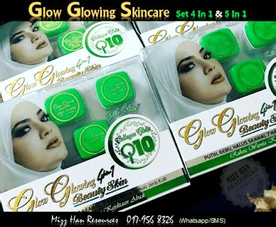 Glow Glowing 4in1 By Ries2017 glow glowing skincare 4in1 5in1 skin care cosmetic