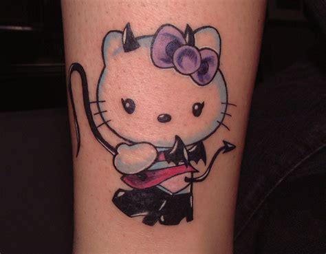 hello kitty couple tattoos evil hello jpg