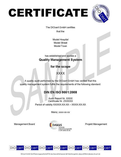 certificate of quality template 28 images sle