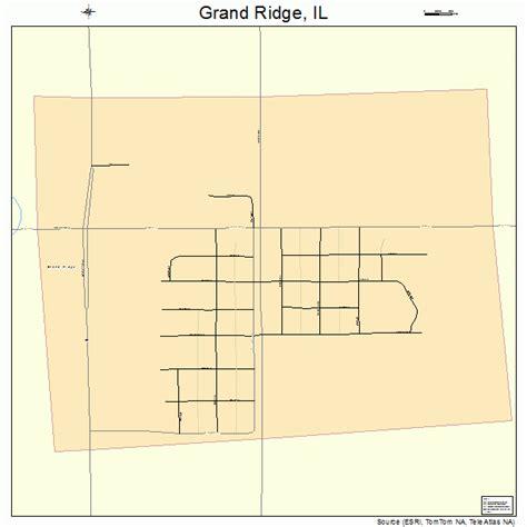 grand illinois map grand ridge illinois map 1730757