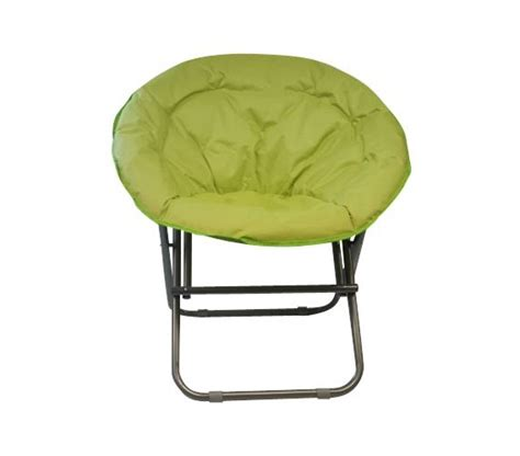 Lounge Chairs For Dorms by Cool Seating Comfort Padded Moon Chair Lime