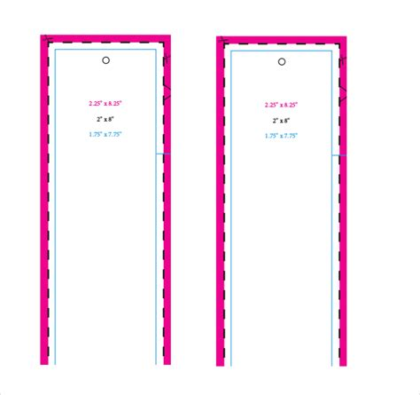 free bookmark template bookmark templates 16 free pdf psd documents