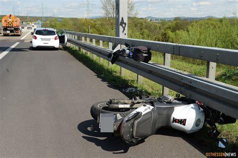 Motorradunfall Nrw by Schwerer Unfall Auf A66 Motorradfahrerin 50 Schwer