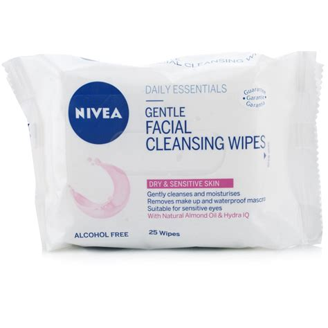 Detox Wipes by Nivea Visage Cleansing Wipes For Sensitive Skin