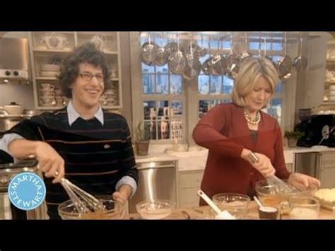 Dempsey Andy Samberg Do Martha by Libby S Pumpkin Pie With Andy Samberg Martha Stewart