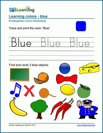 learning colors worksheets learning colors worksheets for preschool and kindergarten