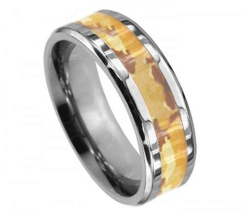 camo tattoo wedding bands pin pin engagement rings camo wedding men tattoo on
