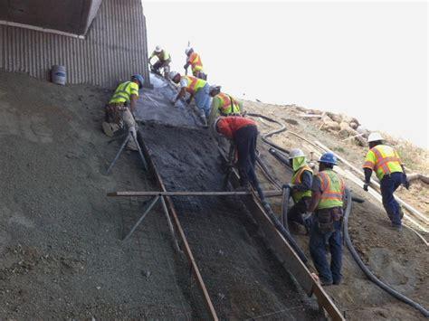 How To Build Pour Concrete 5 tips to pour concrete on slope effectively maple concrete pumping