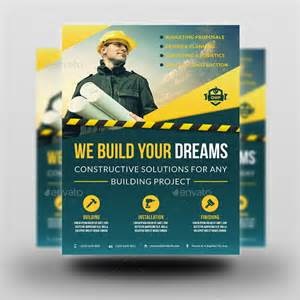 Construction Flyer Templates by Construction Business Flyer Vol 4 By Owpictures Graphicriver