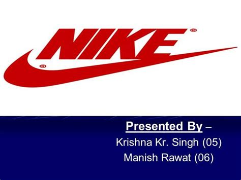 Nike Ppt By Krishna Authorstream Nike Powerpoint Template
