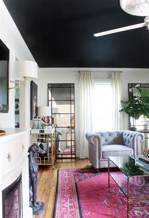 the 25 best black ceiling ideas on