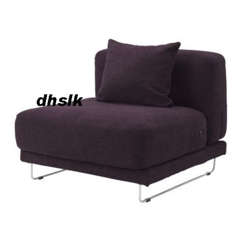 tylosand sofa cover ikea tylosand 1 seat chair sofa cover rephult purple