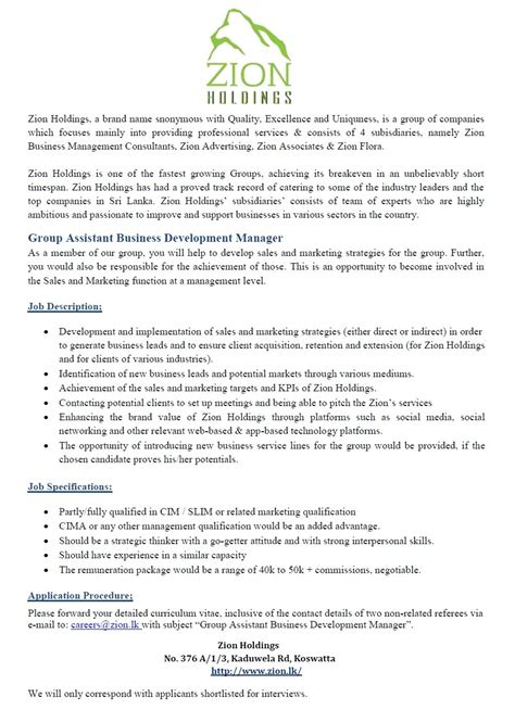 Experience Letter For Business Development Executive 100 Business Development Executive Work Experience Sle Business Development Manager Cover