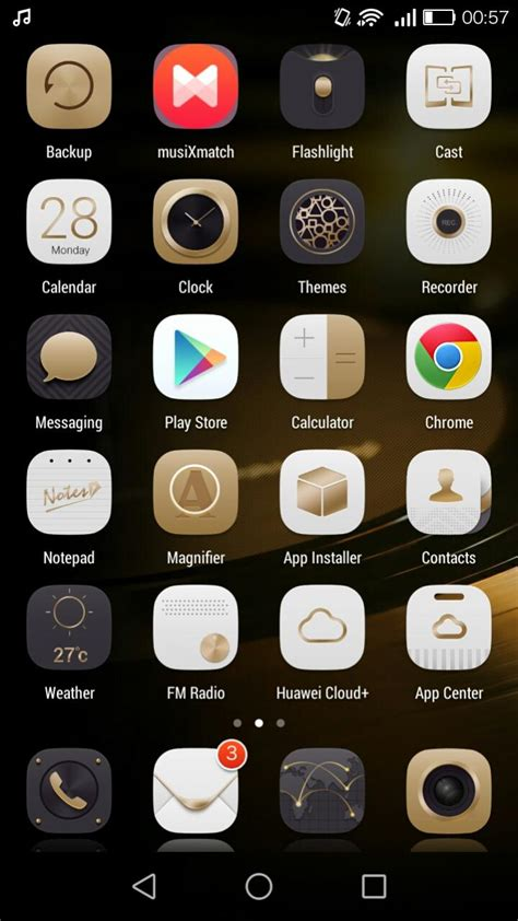 themes emui 3 0 g7 mate 7 gold theme for emui 3 0 huawei themes ascend