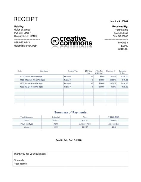 billing receipt invoice template on receipt of invoice invoice template ideas