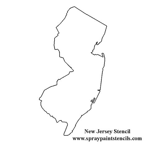 New Jersey State Map Outline by Virginia State Stencil Map Random Crafts To Try Virginia Stencils And Maps