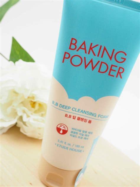 Etude Baking Powder etude house baking powder b b cleansing foam