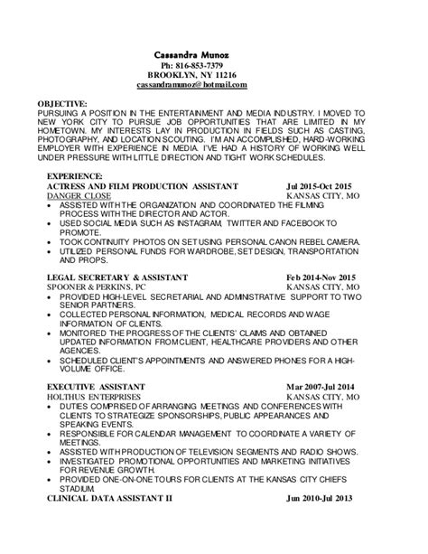 entertainment resume template entertainment industry resume resume ideas
