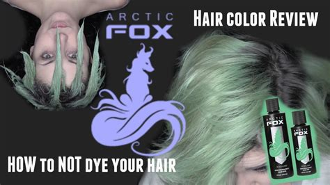 arcticfox hair color review how to not dye your hair arctic fox hair color review