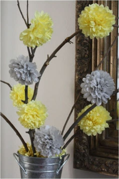 yellow and gray baby shower centerpieces best 10 yellow baby showers ideas on baby shower ideas yellow