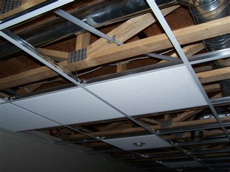 Installing A Ceiling by How To Install A Suspended Ceiling