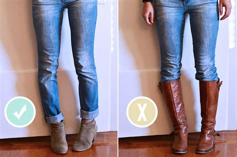 when to wear ankle booties vs knee high boots