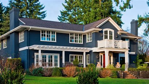 house trend exterior color ideas with color explanations style