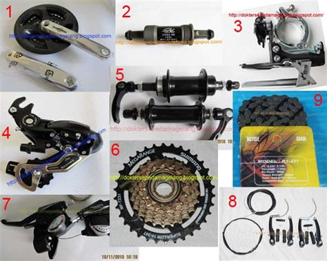 Groupset Shimano Tourney 8 Speed dokter sepeda magelang groupset mixed shimano tourney 7