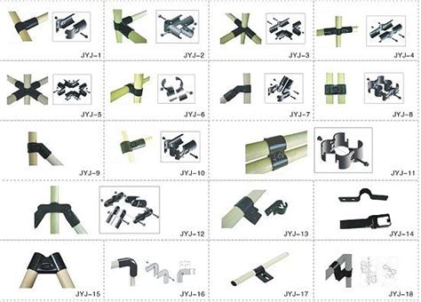 Traditional Japanese Bedroom metal pipe joints set jyj series from shenzhen