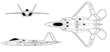 f 22 raptor avion megapost taringa