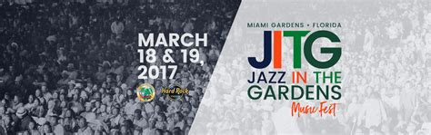 Jazz In The Garden Line Up what is the line up for jazz in the gardens 2016 autos post