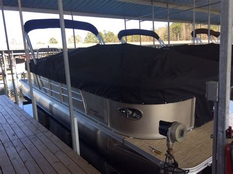 2017 landau boats 252 island breeze cruise higden ar for - Pontoon Boat Mooring Covers With Snaps