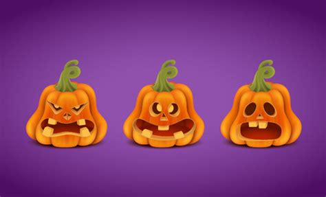 tutorial illustrator halloween create a halloween set with pumpkins in adobe illustrator