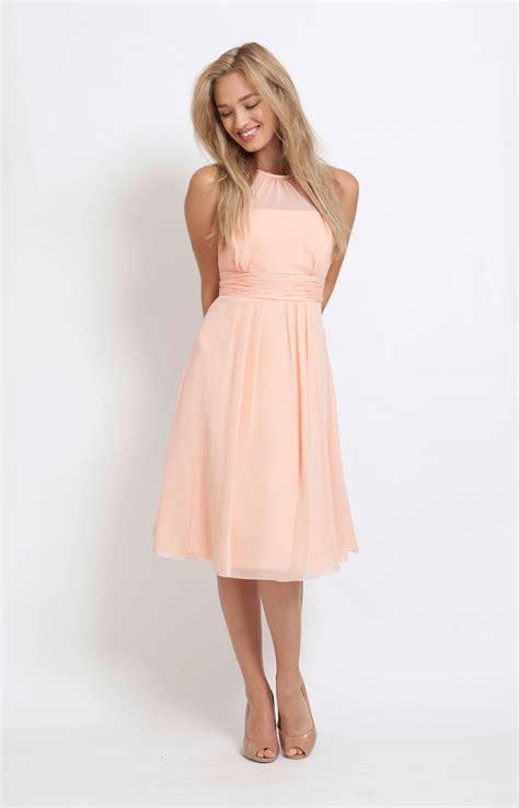 light peach dress catherine short peach wedding dress from maids to measure