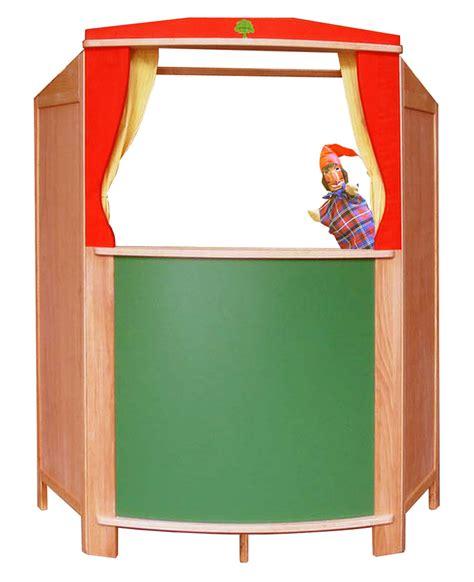 puppentheater vorhang robustes kasperletheater holz tafel sch 246 llner sofort lieferbar