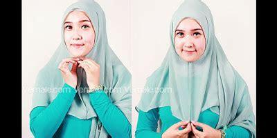 cara pake jilbab praktis dan cepat cara pake hijab cara memakai jilbab segi empat simple