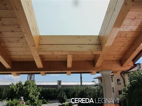 tettoia di legno tettoie di legno cereda legnami agrate brianza