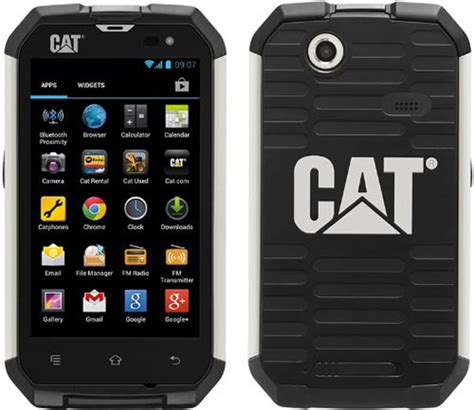 Cat Rugged Phone by This Is The Cat Ultra Rugged And Waterproof Android Phone